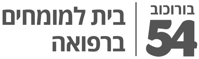 אפור לוגו בורוכוב 54 אנכי
